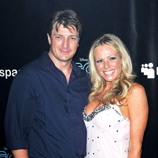 Nathan Fillion, Laura Bell Bundy in Comic Con 2010 - Day 2 - 'Tron Legacy' Party
