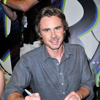 Sam Trammell in Comic Con 2010 - Day 2 - True Blood' Autograph Session