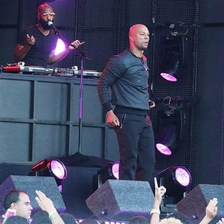 Common in Common Performs on Stage at Jimmy Kimmel Live!
