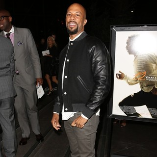 Common in Los Angeles Premiere of 12 Years a Slave