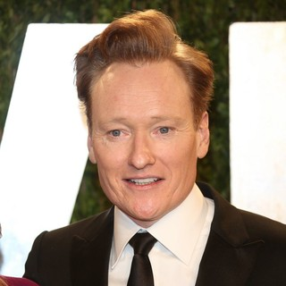 Conan O'Brien in 2013 Vanity Fair Oscar Party - Arrivals - conan-o-brien-2013-vanity-fair-oscar-party-01