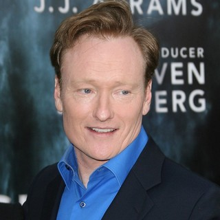 Conan O'Brien in Los Angeles Premiere of Super 8