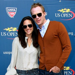 Jennifer Connelly, Paul Bettany in The 2012 U.S. Open - The Women's Final