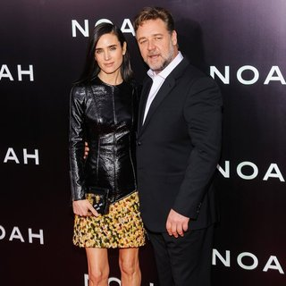 Jennifer Connelly, Russell Crowe in Noah New York Premiere