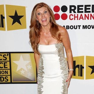 Connie Britton in The 2011 Critics Choice Television Awards Luncheon - Red Carpet