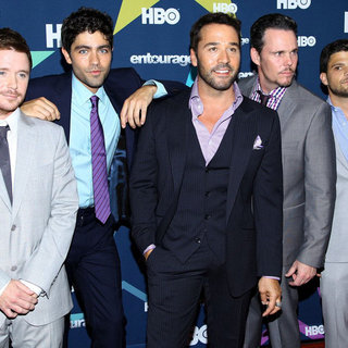 Kevin Connolly, Adrian Grenier, Jeremy Piven, Kevin Dillon, Jerry Ferrara in Final Season Premiere of HBO's Entourage