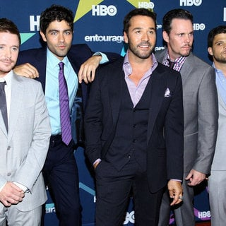 Adrian Grenier in Final Season Premiere of HBO's Entourage - connolly-grenier-piven-dillon-ferrara-premiere-entourage-final-season-02