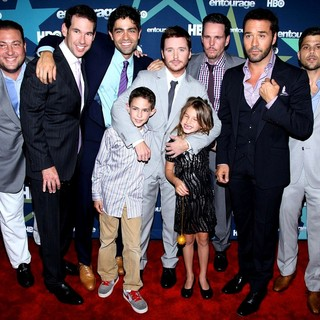 Adrian Grenier, Kevin Connolly, Kevin Dillon, Jeremy Piven, Jerry Ferrara in Final Season Premiere of HBO's Entourage