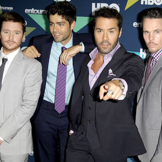 Kevin Connolly, Adrian Grenier, Jeremy Piven, Kevin Dillon in Final Season Premiere of HBO's Entourage