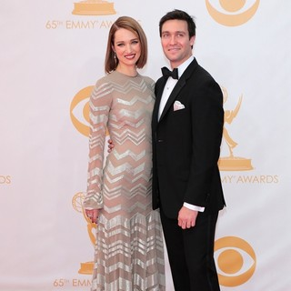 Kristen Connolly, Cody Riffle in 65th Annual Primetime Emmy Awards - Arrivals
