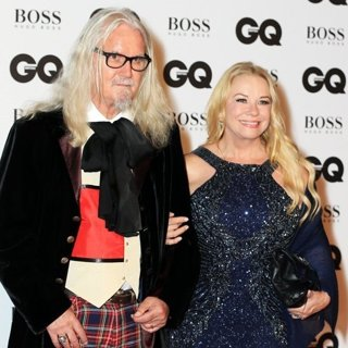 Billy Connolly, Pamela Stephenson in 2016 GQ Men of The Year Awards