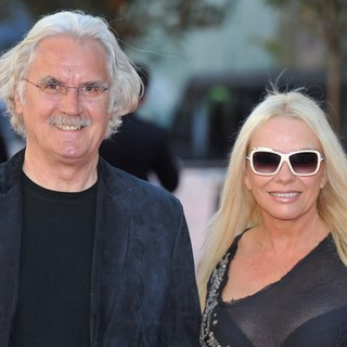 Billy Connolly, Pamela Stephenson in U.K. Premiere of George Harrison: Living in the Material World