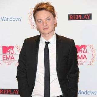 Conor Maynard in The MTV EMA's 2012 - Press Room