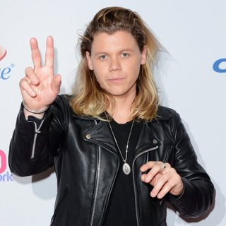 Conrad Sewell in Z100's iHeartRadio Jingle Ball 2015 - Red Carpet Arrivals