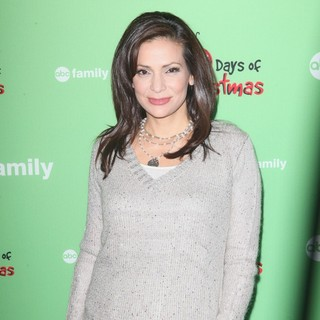 Constance Marie in ABC Family's 25 Days of Christmas Winter Wonderland Event