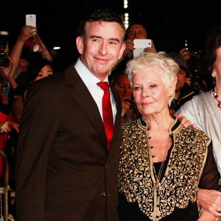 Steve Coogan, Judi Dench in 57th BFI London Film Festival - Philomena Film Premiere - Arrivals