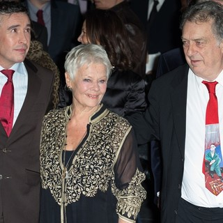 Steve Coogan, Judi Dench, Stephen Frears in 57th BFI London Film Festival - Philomena Film Premiere - Arrivals