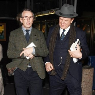 Steve Coogan and John C. Reilly Arrive at RTE Studios for The Late Late Show