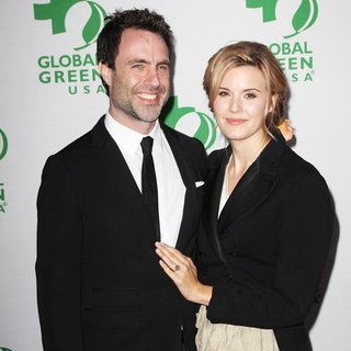 Matthew Cooke, Maggie Grace in Global Green USA's 12th Annual Pre-Oscar Party