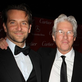 Bradley Cooper, Richard Gere in 24th Annual Palm Springs International Film Festival Awards Gala - Red Carpet