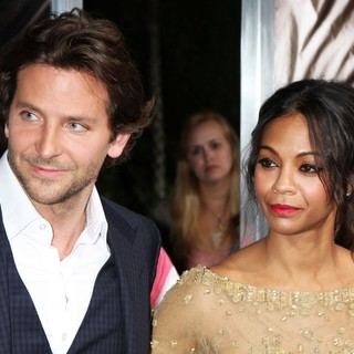 Bradley Cooper, Zoe Saldana in The Premiere of CBS Films' The Words - Red Carpet