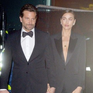 Bradley Cooper, Irina Shayk in Bradley Cooper and Irina Shayk Seen Leaving The British Academy Film Awards