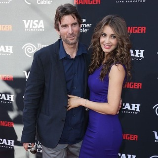 Sharlto Copley, Tanit Phoenix in The World Premiere of Disney-Jerry Bruckheimer Films' The Lone Ranger