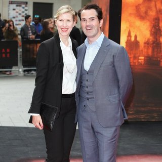 Karoline Copping, Jimmy Carr in European Premiere of Godzilla - Arrivals