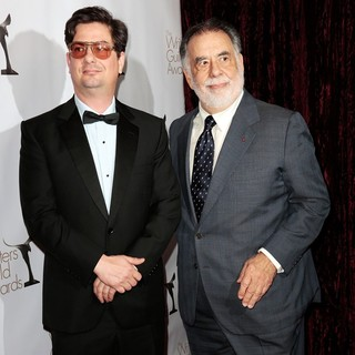 Roman Coppola, Francis Ford Coppola in 2013 Writers Guild Awards - Arrivals