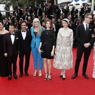 Willem Dafoe, Jeon Do-yeon, Jia Zhangke, Gael Garcia Bernal, Jane Campion, Sofia Coppola, Leila Hatami, Nicolas Winding Refn, Carole Bouquet in 67th Cannes Film Festival - Opening Ceremony