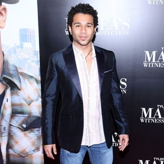 Corbin Bleu in Tyler Perry's Madea's Witness Protection New York Premiere
