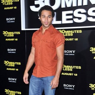 Corbin Bleu in Los Angeles Premiere of 30 Minutes or Less