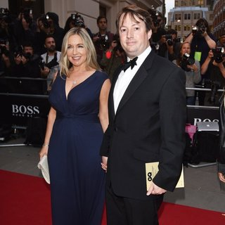 Victoria Coren, David Mitchell in GQ Men of The Year Awards 2015 - Arrivals