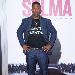 Corey Reynolds in New York Premiere of Selma - Red Carpet Arrivals