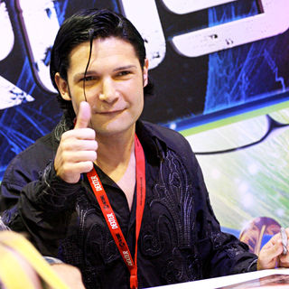 Corey Feldman in Signs Autographs For Fans at Comic Con