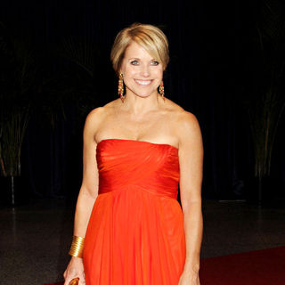 Katie Couric in 2010 White House Correspondents Association Dinner - Arrivals - correspondents_04_wenn2828885