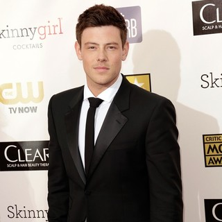 Cory Monteith in 18th Annual Critics' Choice Movie Awards