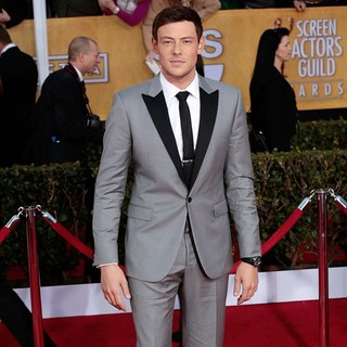Cory Monteith in 19th Annual Screen Actors Guild Awards - Arrivals