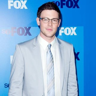 Cory Monteith in 2011 FOX Upfront Presentation - Arrivals