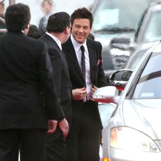 Cory Monteith in The 69th Annual Golden Globe Awards - Arrivals