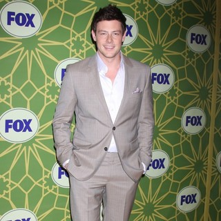 Cory Monteith in Fox 2012 All Star Winter Party - Arrivals