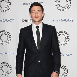 Cory Monteith in The PaleyFest Icon Award