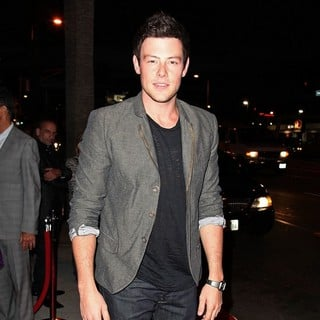 Cory Monteith in Premiere of FX's American Horror Story