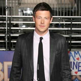 Cory Monteith in The World Premiere of Glee The 3D Concert Movie - Arrivals