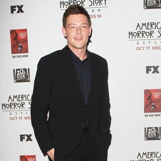 Cory Monteith in Premiere Screening of FX's American Horror Story: Asylum