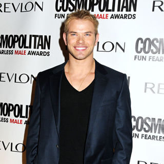 Kellan Lutz in Cosmopolitan Magazine's Fun Fearless Males of 2010