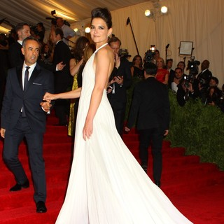Katie Holmes in PUNK: Chaos to Couture Costume Institute Gala - costa-holmes-chaos-to-couture-costume-institute-gala-02