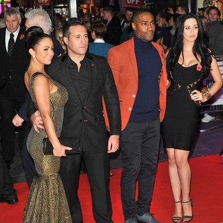 Antony Costa, Simon Webbe, Maria Koukais in The World Premiere of Gambit