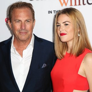 Kevin Costner, Lily Costner in Los Angeles Premiere of Black or White
