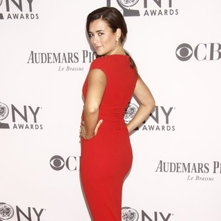 Cote de Pablo in The 66th Annual Tony Awards - Arrivals